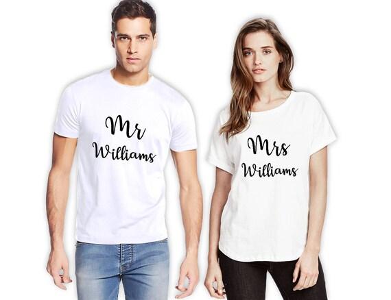 Couple T Shirt Couples Birthday Gift Matching