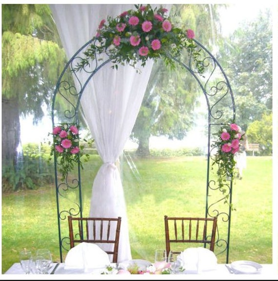 Arche De Mariage En Métal Mariage Décor Floral Arc Décor Etsy