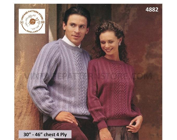 "Swinging the Blues Swing Coat Knitting Instruction Pattern KNOON Adults 30/""-46/"""