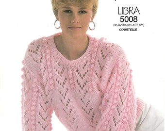 167dbbe8fde173 Ladies sweater knitting pattern
