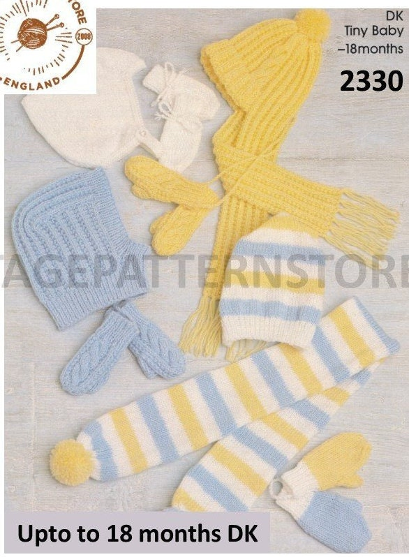 Babies Easy Bonnet Knitting Pattern Babies Scarf Patterns Babies