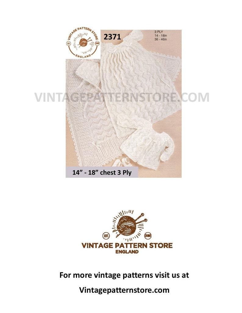 9dcb8ee6c Premature babies knitting pattern, Premature baby pattern, Preemie pattern,  Christening dress pattern - 14