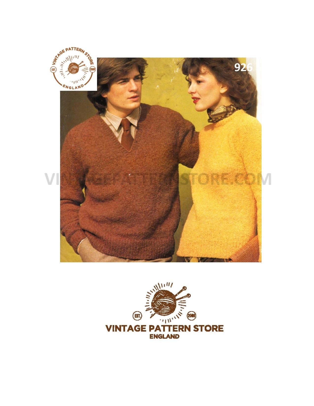 be67736a512d Easy aran sweater knitting pattern