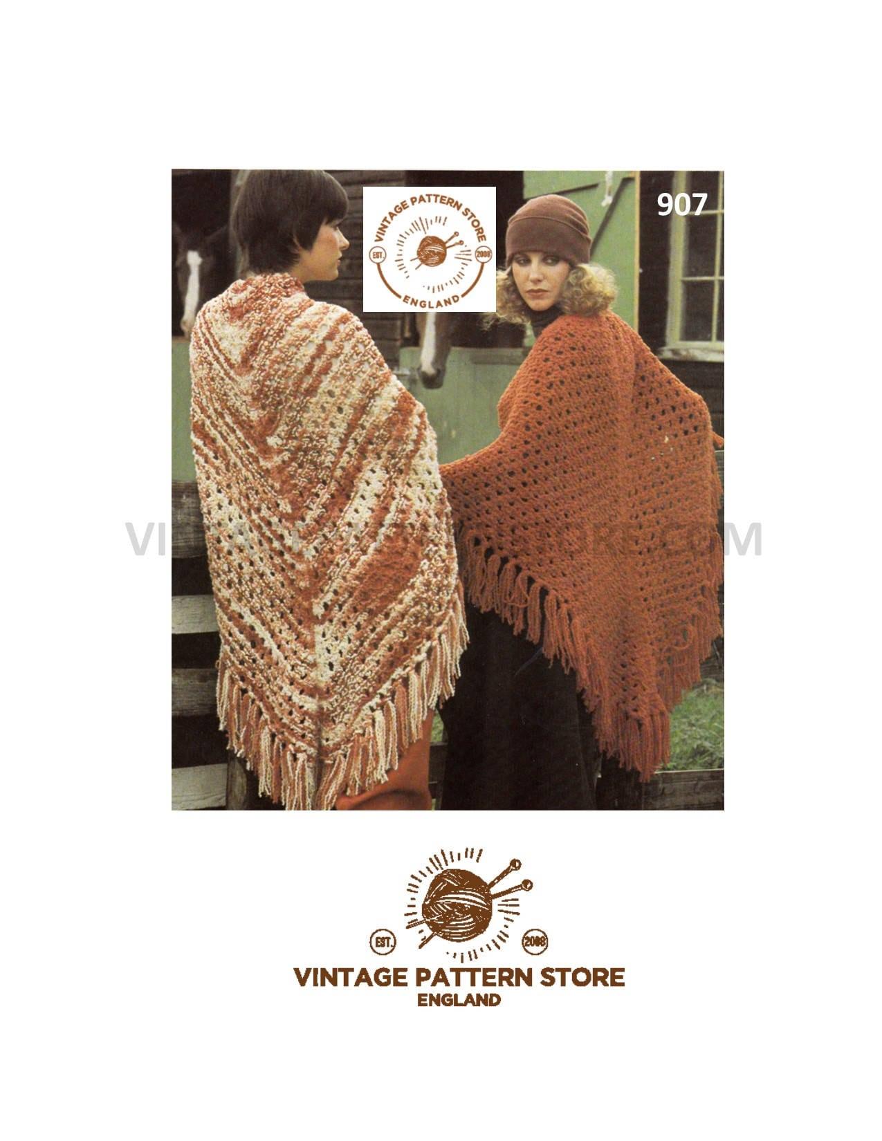 Lacy Business Shawl PDF Knitting Pattern Download