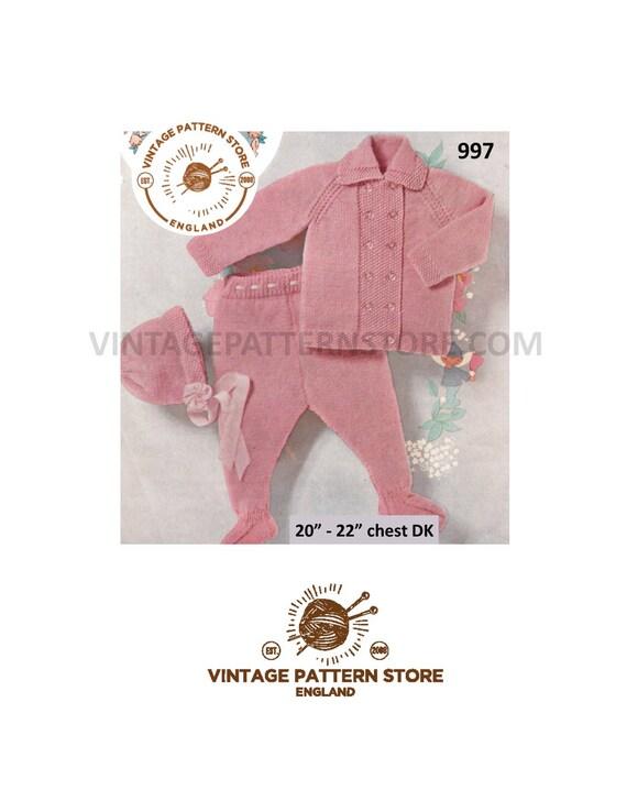 eb3b64f40 Babies pram set Knitting Patterns Babies matinee coat babies