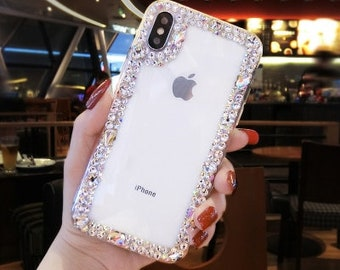 best sneakers 12a47 de64c Diamond iphone case   Etsy