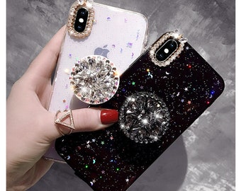ec56b8c5838 Bling Diamond Airbag iPhone Case