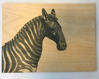 Wood Placemats with Digital LAMOU Print