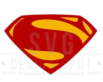 superman logo etsy rh etsy com superman logo outline clipart spiderman logo outline