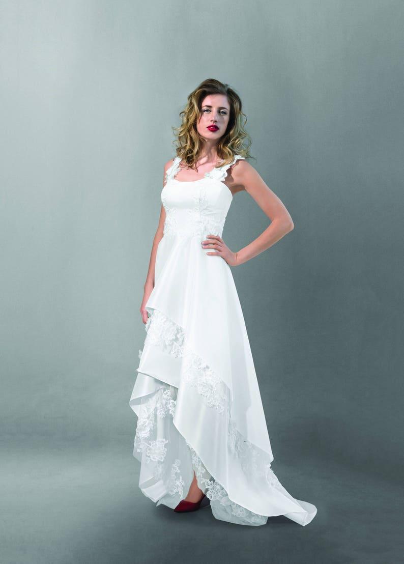 7c8ca058 Extravagant A-line Wedding Dress Veronica   Etsy