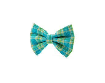 The Easter Bunny Bow, Vintage Collection, bow slider sustainably sourced bow for dogs, cats or other furry family members.