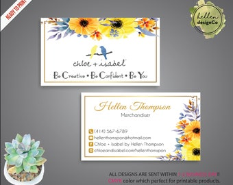 Chloe and isabel etsy quick view chloe and isabel business card colourmoves