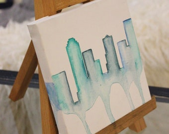 Blue Dripping City