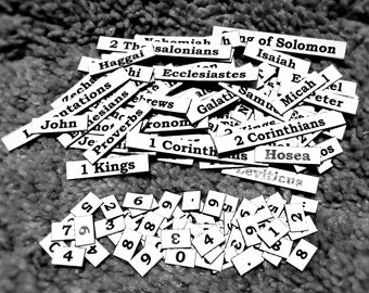 Word Magnets: Bible Books 129 pieces Expansion Pack