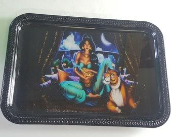 Punk Disney princess rolling tray