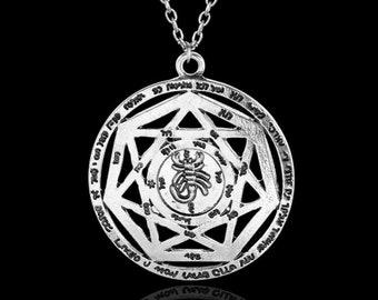 JewelryWe Bijoux 3PCS Pendentif Collier Symboles de Signe Astrologique Zodiaque Zodiac Anneaux Amour Acier Inoxydable Fantaisie pour Homme et Femme avec Sac Cadeau