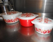 Pyrex Friendship Casserole Set