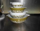 Pyrex Spring Blossom Cinderella Nesting Bowls