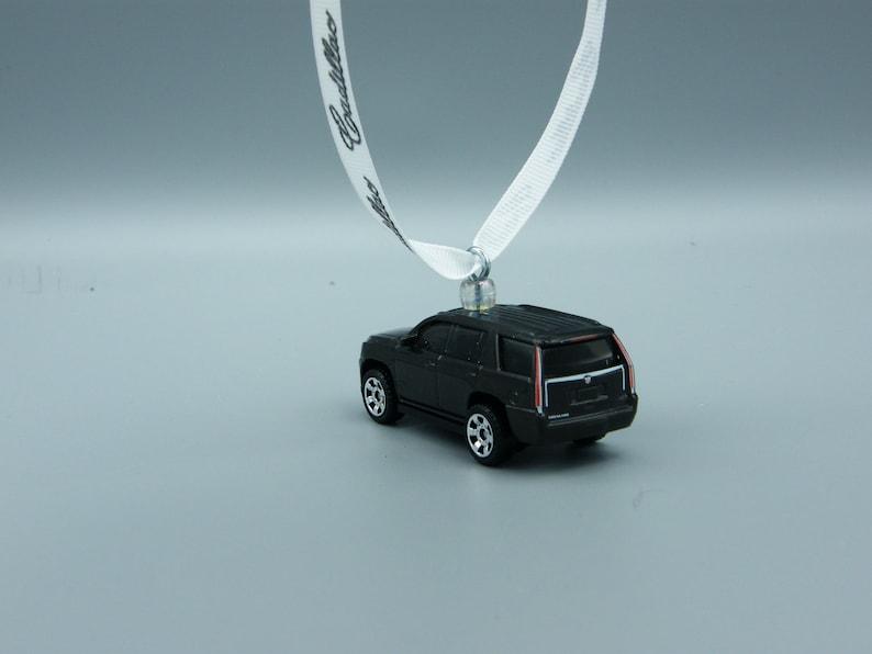 FREE SHIPPINGInsurance Ornament Cadillac Man cave modern luxury SUV 2015 15 Escalade Fathers Day Mothers Birthday Birthday
