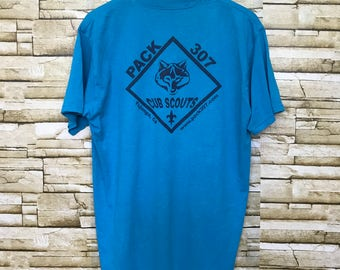 1950s cub scouts BSA xs t shirt
