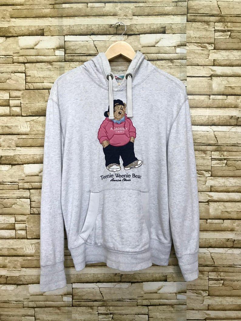 5173f8f7 Vintage Teenie Weenie polo bear hoodie | Etsy