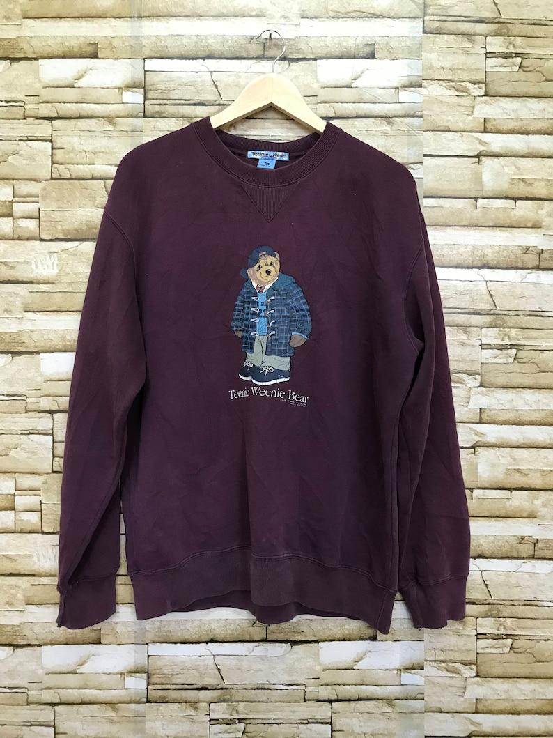 164d03b9 Vintage Teenie Weenie Polo Bear sweatshirt | Etsy