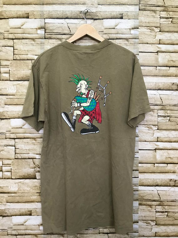 Vintage Lagwagon rock band punk design shirt