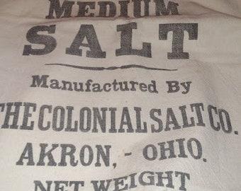 salt bag panel