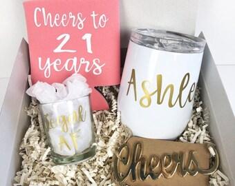 21st birthday gift gift for her 21st birthday birthday for her college birthday gift legal AF & 21st birthday gift | Etsy