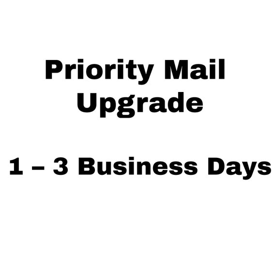 USPS Priority Mail Upgrade USA Domestic 1-3 Business Days
