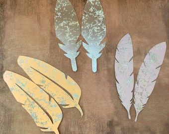 Paper Feathers - Feather Garland - Feather decor - Feather designs -