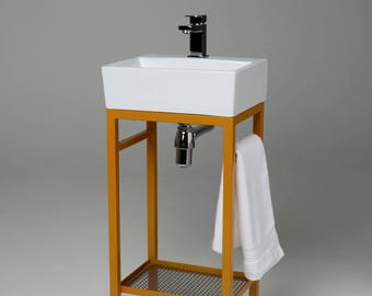 Cloakroom Basin Stand (colours)