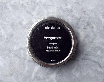 Beard Balm | Bergamot | All Natural Beard Balm