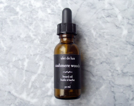 Cashmere Woods Beard Oil