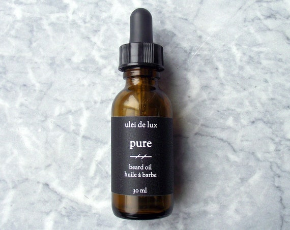 Pure (Unscented) Beard Oil