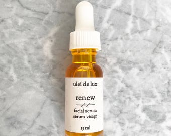 Anti Aging Face Oil | Squalane, Rosehip, Seabuckthorn & Evening Primrose Facial Serum | Anti Wrinkle Facial Oil