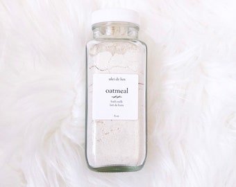 Oatmeal and Coconut Bath Milk