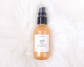 Gold Illuminating Body Oil