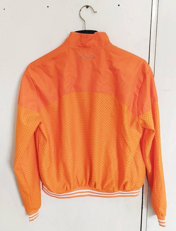 Vintage 90s CHANEL women light jacket size XL - image 2