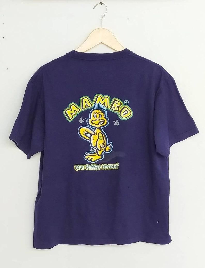 Vintage MAMBO AUSTRALIA t shirt size M oversize