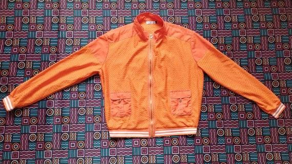 Vintage 90s CHANEL women light jacket size XL - image 3