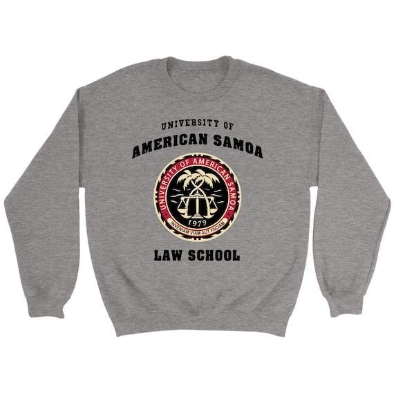 2e44b7b35710 University Of American Samoa Law School Sweatshirt Sweater Crew Neck  Pullover