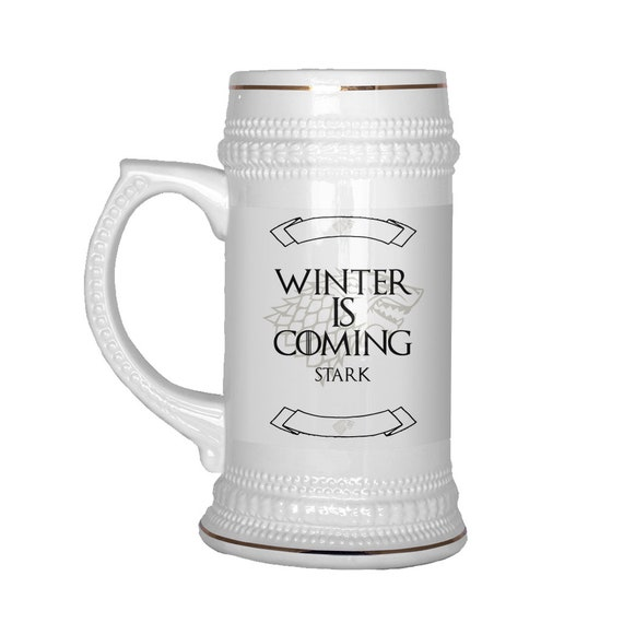 House Stark Game of Thrones Tankard Winter is Coming Collectable Drinking Mug