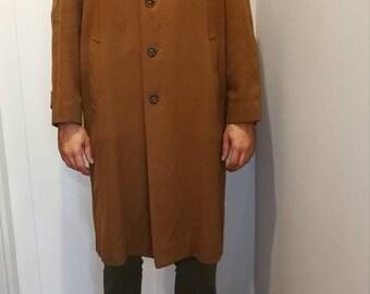 Manteau de Cachemire vintage homme Burberry Burberrys homme manteau 1080s  80 s London style manteau homme longs Burberrys f7941bbe987