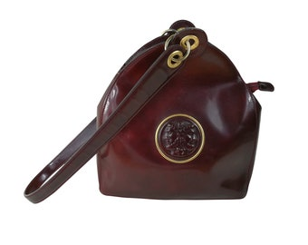 c1731bb91f Fendi Vintage Bag from the Janus series Karl Lagerfeld 1980 collection  Collection bag Bordeaux