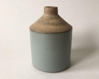 Gray bud vase #11