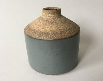 Dark Gray bud vase #18