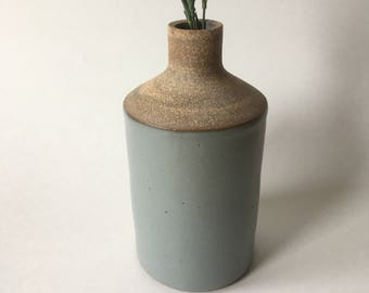 Light gray bud vase #10
