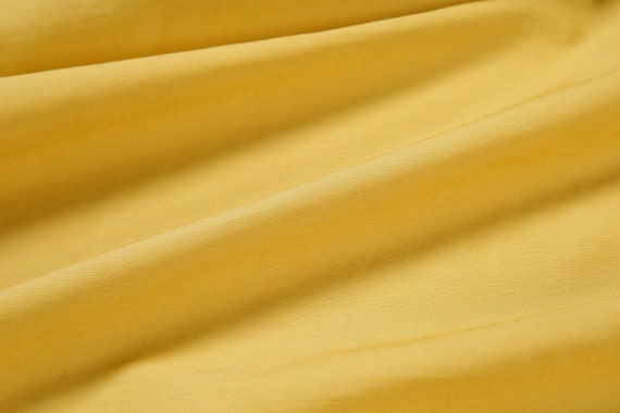 5 Yard 100/% COTTON  SOLID VOILE PLAIN COLOR Fabric Indian Material Sewing Yellow