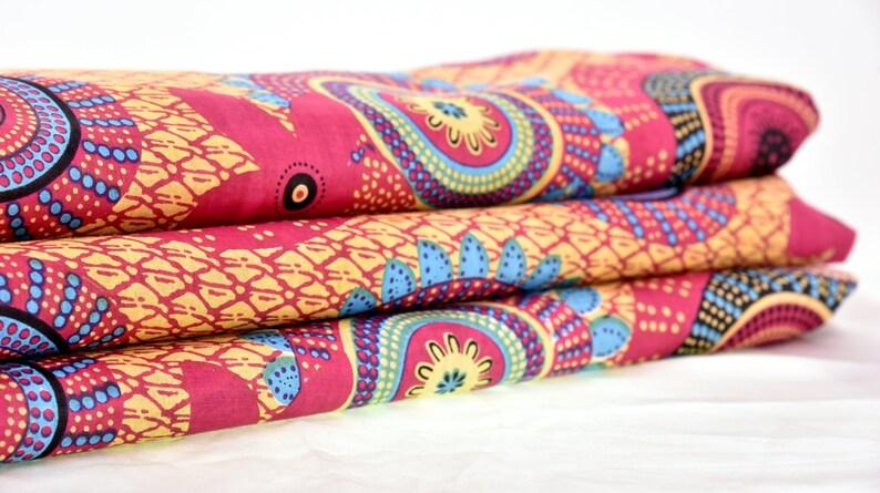 Rangoli Druck Stoff Bedruckter Baumwollstoff Indischen Etsy
